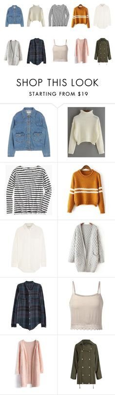 Hong Seol - tops by diah-fara-dilla on Polyvore featuring Raquel Allegra, J.Crew, Madewell, Chicwish, women's clothing, women's fashion, women, female, woman and misses