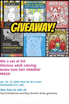 Coloring Book Art, Coloring Sheets, Adult Coloring, Mug Shots, Printable Coloring Pages, Art Therapy, Giveaways, Hilarious, Day