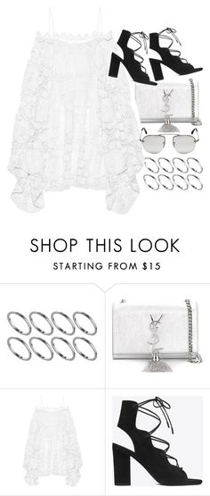 """""""Untitled #9137"""" by nikka-phillips ❤ liked on Polyvore featuring ASOS, Yves Saint Laurent, Chloé and Prada"""