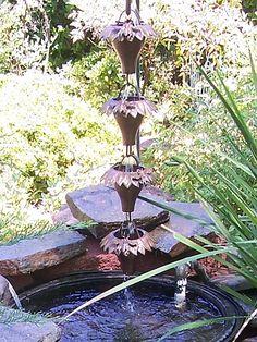 Make+Your+Own+Rain+Chain   SOLAR POWER WATER FOUNTAIN PUMP. SOLAR POWER WATER - CONCRETE PUMP ...