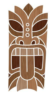Tiki Mask Designs by Von Glitschka