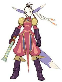 Ursula from Breath of Fire IV