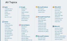 GCFLearnFree - free online learning about lots of topics