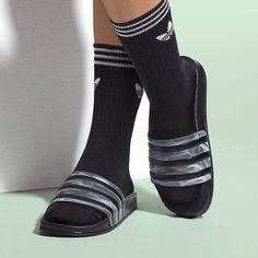 Adilette W Sandals by Rita Ora for Adidas Originals - Aplace.com