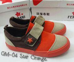 READY STOCK KIDS CANVAS SHOES KODE : GM-04 Star Orange Size 31-37 PRICE : Rp.195.000,- DETAIL SIZE (insole) :  - Size 31 (19cm) - Size 32 (19,5cm) - Size 33 (20cm) - Size 34 (20,5cm) - Size 35 (21cm) - Size 36 (21,5cm) - Size 37 (22cm)  FOR ORDER : SMS/Whatsapp 087777111986 PIN BB 766a6420 FB : Mayorishop  #pusatsepatubootsanak #kidscanvasshoes #sepatucanvasanak #sepatuanakimport #kidscasualshoes #sepatusantaianak #sepatuanaklucu #brownhoes #orangeshoes #readystock #mayorishoponline #bogor