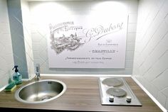 Photo DR Zozomum - self-catering studio Le Petit Cavalier #Chantilly - coin cuisine
