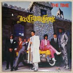 The Time – Ice Cream Castle (3rd studio album from the funk group put together by Prince.)