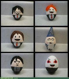 Harry Potter eggs