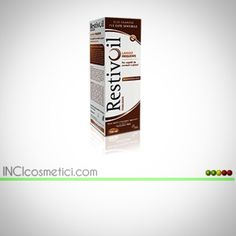 L' #olio #shampoo fisiologico #restivoil è un prodotto di #restiva ed il suo #inci contiene un totale di 35 ingredienti di cui il 52% di qualità eccellente e buona.  #Follow #incicosmetici e vota il prodotto @ www.incicosmeti.com
