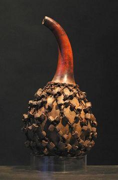 *Gourd Art - African Calabash Shekere