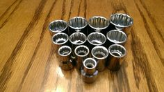 13 Craftsman Hand Tools 3/8 inch Drive 12 PT Metric Socket Set Standard - Sockets & Socket Sets