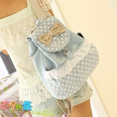 Fashion Cute Bow Belt Shoulder Bag The cute bow tide doubles