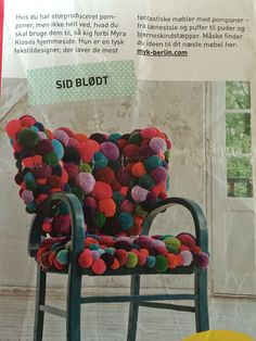 Pompon stol