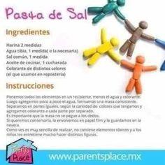 como hacer pasta de sal