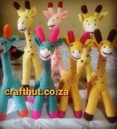 Craft Markets, Giraffes, Love Crochet, Cheer, Dinosaur Stuffed Animal, Toys, Happy, Animals, Instagram
