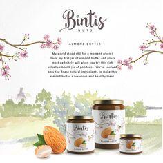 Bintis Nut Butters — The Dieline - Branding & Packaging
