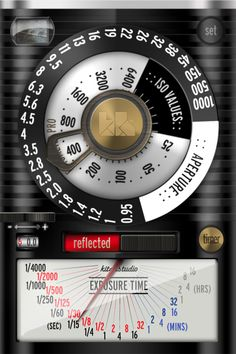 iPhone Lightmeter Apps (Some Free!) I so am getting one of these and will never be with out a light meter again (as mine is normaly at the studio with my lights)