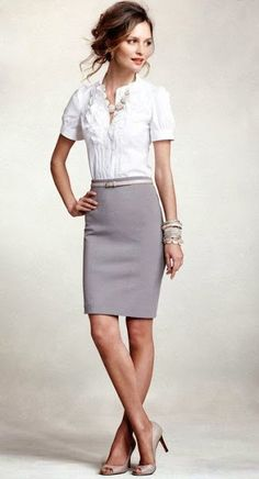Women's Business Fashion Trend - I need to wear more skirts to work.