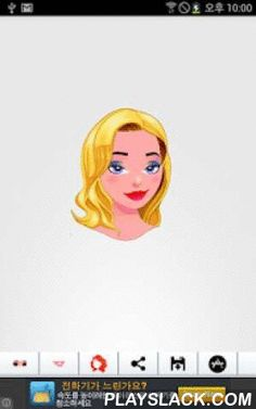 Avatar Face Creator  Android App - playslack.com , Avatar Face Creator app for kids.you can select Hair Style, color, eye color, Lips etc..and can create a avatar Face for kid play & education.Try to create a avatar Face with your kids.Features- hair style, color choice - lips choice- eye color choice- sharing- save