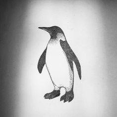 Fresh WTFDotworkTattoo Find Fresh from the Web penguin #tattooflash…