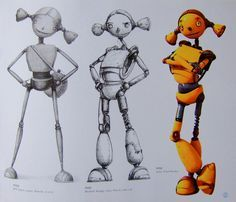 robots movie characters - Google Search