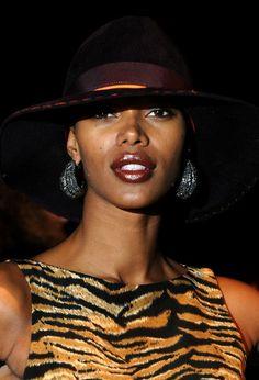 Jessica White attends the BCBG Max Azria Fall 2012 fashion show