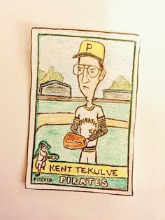 Kent Tekulve Pittsburgh Pirates