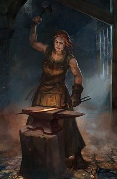 Blacksmith by Lucy-Lisett
