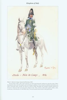 Kingdom of Italy: Plate 2: Aide-de-Camp, General of Division, 1812