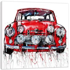 Capture a Mini - Paul Kenton image on a designer roller blind at Creatively Different Blinds. Mini - Paul Kenton blinds from just Paul Kenton, Continuous Line Drawing, Car Drawings, Gcse Art, Art Themes, Classic Mini, Automobile, British Car, Artsy