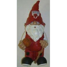 NBA Chicago Bulls Garden Gnome - http://weheartchicagobulls.com/bulls-fan-shop/nba-chicago-bulls-garden-gnome