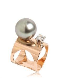 SARDO - KAHN DIAMOND ROSE GOLD RING