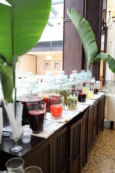 Sangria station at one of the best Cuban restaurants in Miami Beach where we used to taste guava sangria at the SoBe foodie tour. 20 takes off #airbnb #airbnbcoupon #cuba