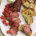beef tenderloin with ancho-jalapeno butter