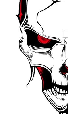 Illustrate a Malevolent Skull in 8 Steps - Go Media™ · Creativity ...