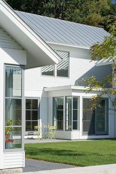 Contemporary Vermont Farm House - farmhouse - Exterior - Burlington - TruexCullins Architecture + Interior Design