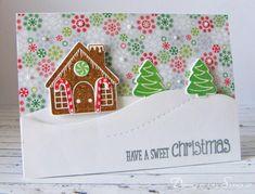 Splitcoaststampers FOOGallery - Sweet Gingerbread Christmas Card
