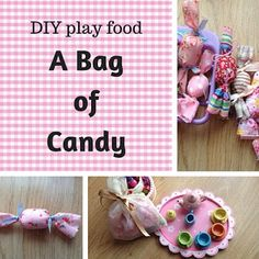 Keeping it Real: DIY play food: a bag of candy
