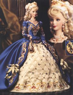 The first Barbie Doll ever created in fine porcelain. The only Barbie Doll series dedicated strictly to royalty and complete opulence. The only Barbie Doll inspired by and named after the famous Russian jeweler. Barbie Style, Barbie Dress, Barbie Clothes, Barbie Gowns, Vintage Barbie, Poupées Barbie Collector, Barbie Torte, Swarovski, Best Fashion Designers