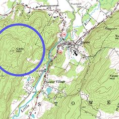 Topographic maps use a special type of line, called a contour line