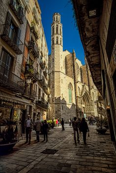 Towards the Cathedral of the Sea. by Jimbos Padrós on 500px | Barcelona, Catalonia