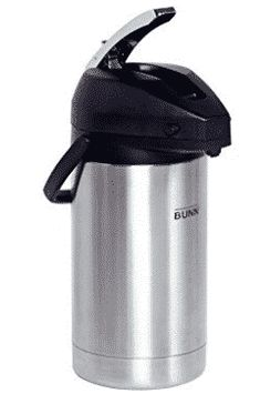 BUNN 32130.0000 3.0-Liter Lever-Action Airpot, Stainless Steel Lever Action, Travel Mug, Diving, Stainless Steel, Places, Top, Scuba Diving, Lugares