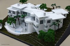 Scale Architectural Models Homes Kits | Architectural Model, San Dimas Home | General Home