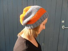 super slouchy beanie on Etsy, $35.00