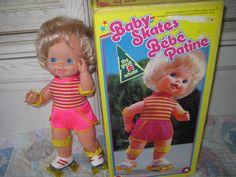 1978 Baby Skates Mattel In Orgional Box by Daysgonebytreasures, $40.00