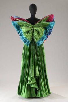 The Philadelphia Museum of Art will host the first compilation in the U.S. from revered Italian fashion designer and artist Roberto Capucci during Roberto Capucci: Art in Fashion
