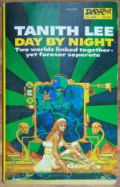 SciFi Day By Night by Tanith Lee 1980 Daw sf by AtomicFrostedBombs, $9.00