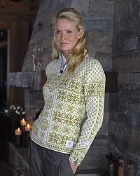 This is the Dale sweater I bought when I was in Norway.