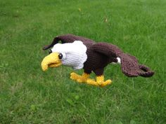 Amigurumi Crochet Pattern  Sam the Eagle