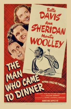 Movie Monday: The Man Who Came To Dinner - a review by Me and My SoldierMan